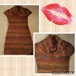 Dresses & Skirts - Brown sweater dress